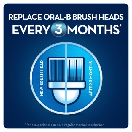 Oral-B (Braun) Precision Clean børstehovedrefiller 4 stk.