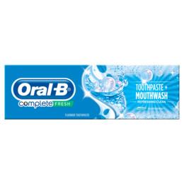 Oral-B (Braun) Complete Refreshing Clean Tandpasta + Mundskyl 75 ml