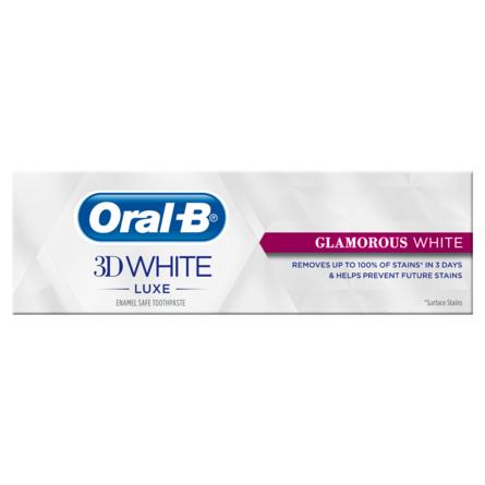 Oral-B (Braun) 3D White Luxe Glamorous White-tandpasta 75 ml