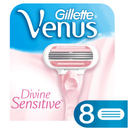 Gillette Venus Divine Sensitive barberblade 8 stk.