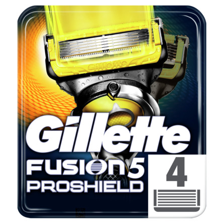 Gillette Fusion5 ProShield Barberblade 4 stk