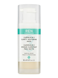 REN Clean Skincare Clearcalm3 Anti-Blemish Treatment Mask 50 ml