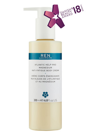REN Clean Skincare Atlantic Kelp And Magnesium Anti-Fatigue Body Cream 200 ml