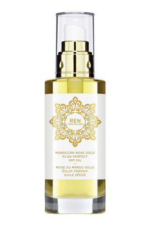 REN Clean Skincare Moroccan Rose Gold Glow Perfect Dry Oil 100 ml