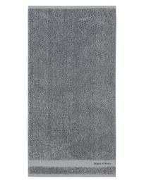 Marc O'Polo Melange Håndklæde Anthracite/Silver 50 x 100 cm