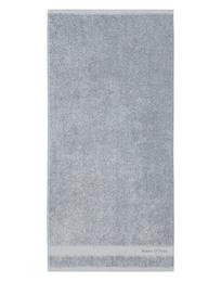 Marc O'Polo Melange Håndklæde Smoke Blue/Off White 50 x 100 cm