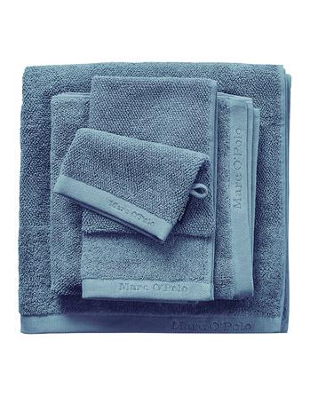 Marc O'Polo Timeless Uni Håndklæde Smoke Blue 50 x 100 cm