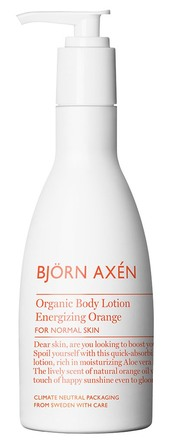 Björn Axén Organic Body Lotion Orange 250 ml