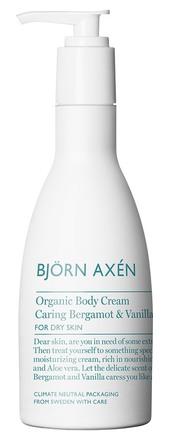 Björn Axén Organic Body Cream Bergamot 250 ml