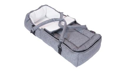 Basson Baby Lift/kørepose Grå melange
