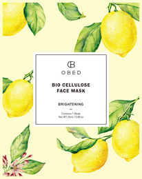 Obed Bio Cellulose Face Mask Brightening 1 stk