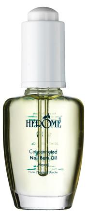 Herôme Neglepleje Nail Bath Oil med pipette 30 ml