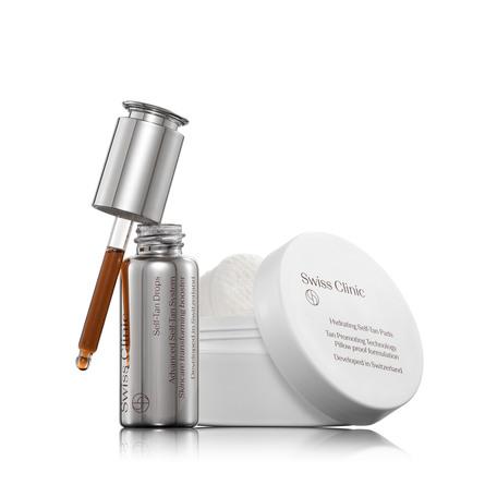 Swiss Clinic Self-Tanning Treatment 15 ml + 25 stk.