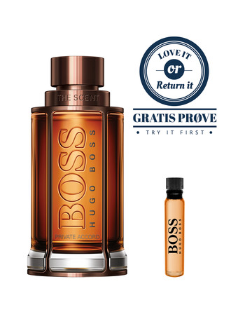 Hugo Boss The Scent Private Accord Eau de Toilette 50 ml + Sample 1,5 ml