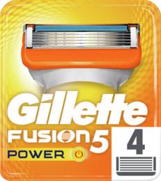 Gillette Fusion5 Power-Barberblade 4 stk.