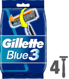 Gillette Blue3 engangsskraber 4 stk.