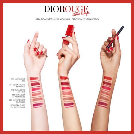 DIOR ULTRA ROUGE LIPSTICK 999 Ultra Dior