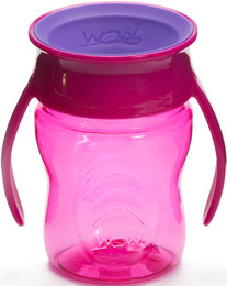 WOW CUP Drikke kop baby Pink