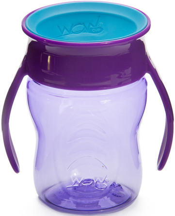WOW CUP Drikke kop baby Pruple