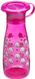WOW CUP Drikke kop Mini Pink Elephanth