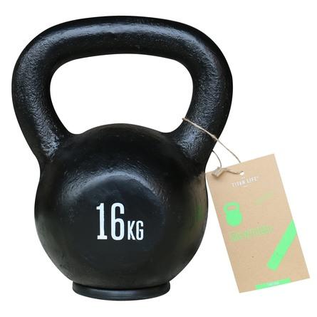 Titan Life træningsudstyr Kettlebells 16 kg.
