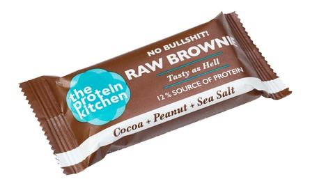 The Protein Kitchen Raw Brownie Cocoa+Peanut+Sea Salt 50 g
