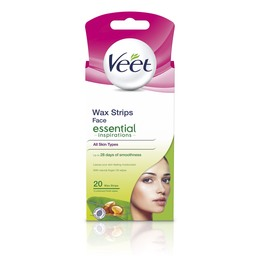Veet Face Essentials 20 stk
