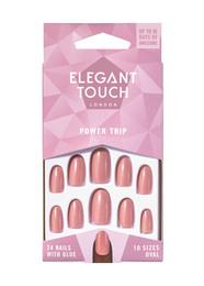 Elegant Touch Colour Nails Power Trip Støvet Lilla