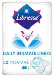 Libresse V-Care Trusseindlæg 22 stk.