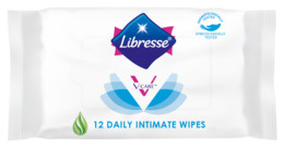 Libresse V-Care Intimservietter 12 stk.