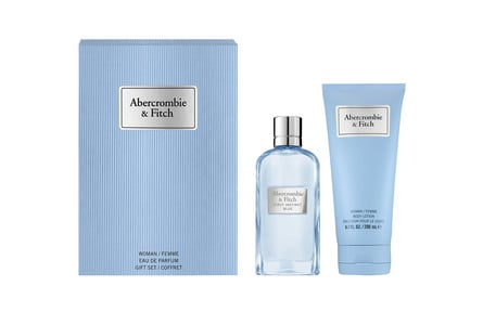 Abercrombie & Fitch First Instinct Blue for Her Gaveæske