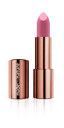 Nude by Nature Moisture Shine Lipstick 01 Bare Pink