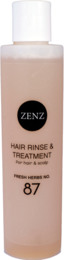 ZENZ Hair Rinse & Treatment Fresh Herbs No. 87 200 ml