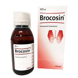 Brocosin hostemikstur 125 ml