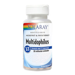 Solaray Multidophilus 12, 100 kapsler