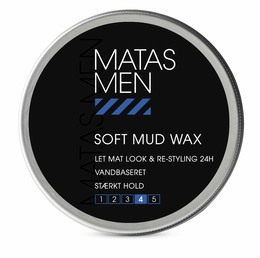 Matas Striber Men Soft Mud Wax 75 ml