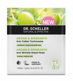 Dr. Scheller Argan & Amarant Antirynke Sheet Mask