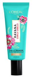 L'Oréal Havana Camila Cabello Sun-Lit Liquid Bronzer 01 Light-Medium