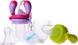 Kidsme Food Feeder - Startpak 2 pk Lime/Lavendel