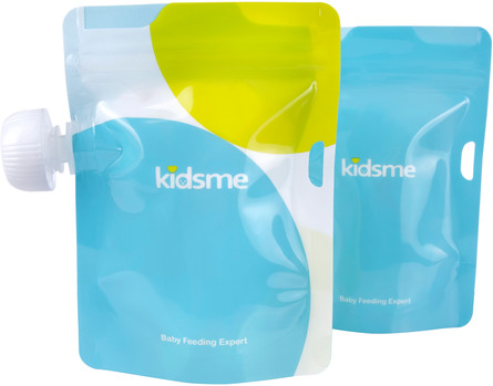 Kidsme Madposer 180 ml 4 stk.