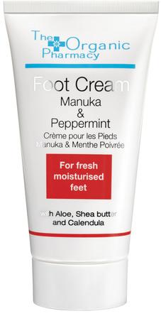 The Organic Pharmacy Manuka & Peppermint Foot Cream 50 ml