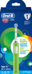 Oral-B (Braun) Junior 6+ år Green Elektrisk Tandbørste Grøn