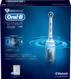 Oral-B (Braun) Genius 8200W Silver Elektrisk Tandbørste Sølv