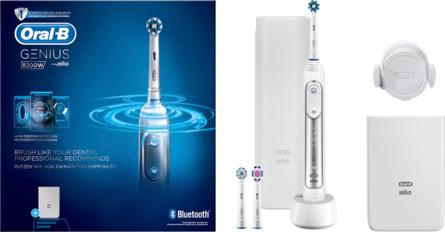 Oral-B (Braun) El-tandbørste Genius 8200W Silver
