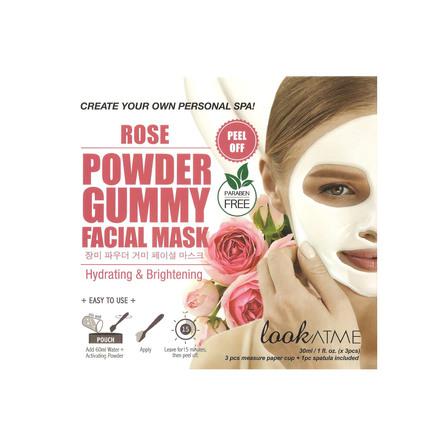 Look At Me Powder Gummy Facial Mask Rose