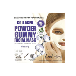 Look At Me Powder Gummy Facial Mask Collagen
