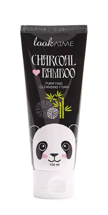 Look At Me Charcoal Bamboo Purifying Cleansing Foam 100 ml