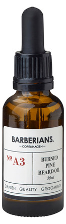 Barberians cph Burned Pine Beard Oil 30 ml.