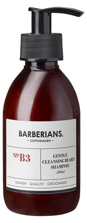 Barberians cph Barberians Cleansing Beard Shampoo 200 ml.