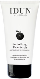 IDUN Minerals Smoothing Face Scrub 75 ml
